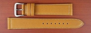 牛(ステア)革ベルト キャメル 16、18mm オリジナル CC-027a