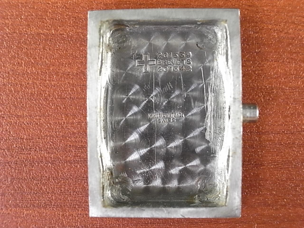 ミネルバ レクタンギュラー フーデッドラグ 防水ケース 1940年代の写真6枚目