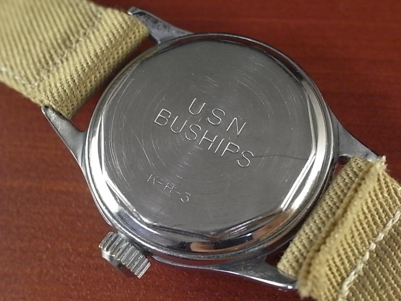 ハミルトン ミリタリー USN BUSHIPS スモールセコンド 1940年代の写真4枚目
