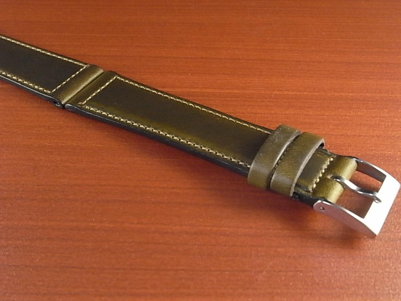ホーウィン クロムエクセル レギュラー オリーブ 16、17、18、19、20mmの写真6枚目