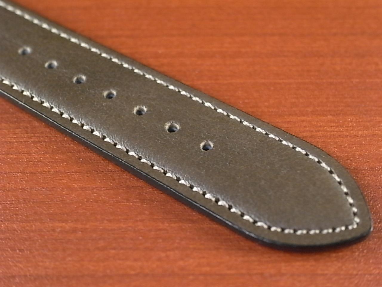 牛(ステア)革ベルト オープンエンド グレー 16、18、20mm オリジナル CC-026bの写真5枚目
