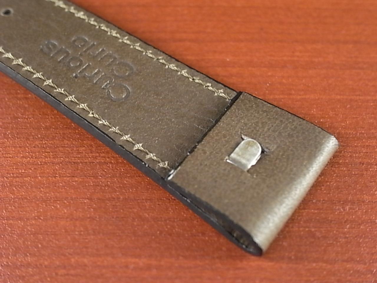 牛(ステア)革ベルト オープンエンド グレー 16、18、20mm オリジナル CC-026bの写真6枚目