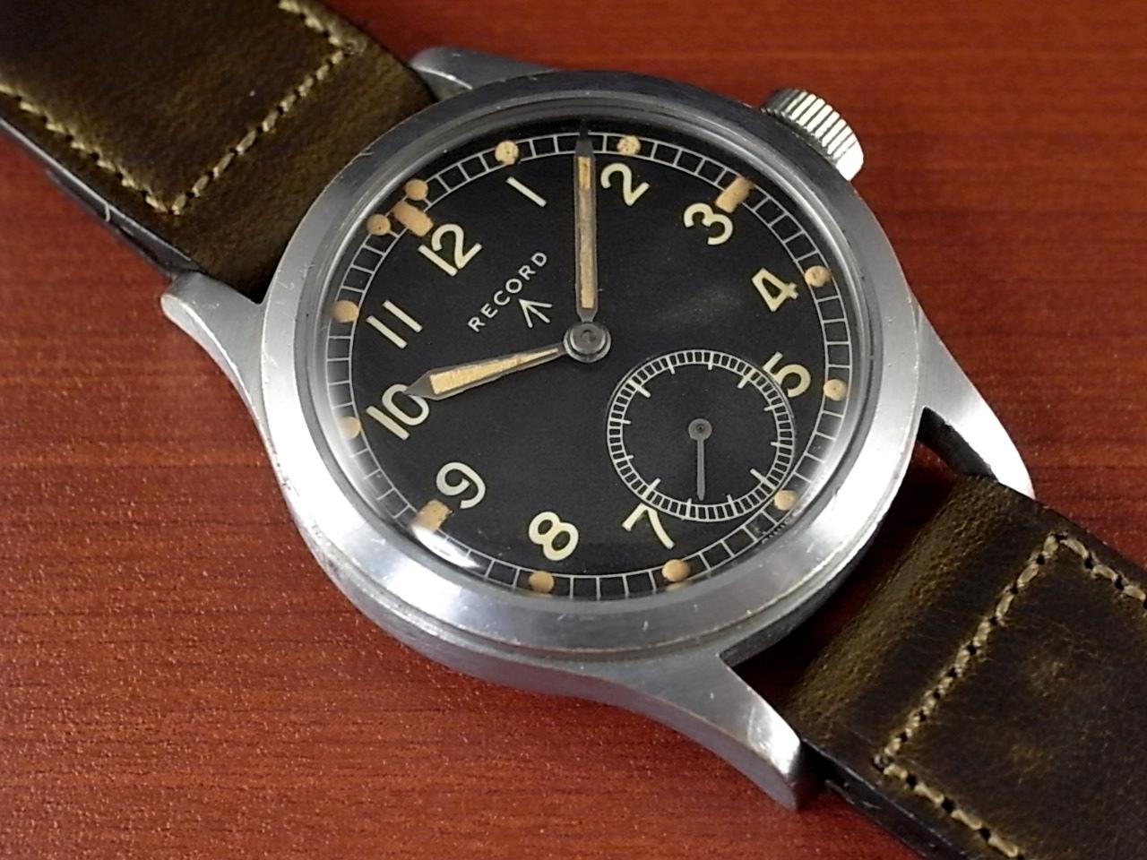 レコード 軍用時計 イギリス陸軍 W.W.W. 第二次世界大戦 1940年代のメイン写真