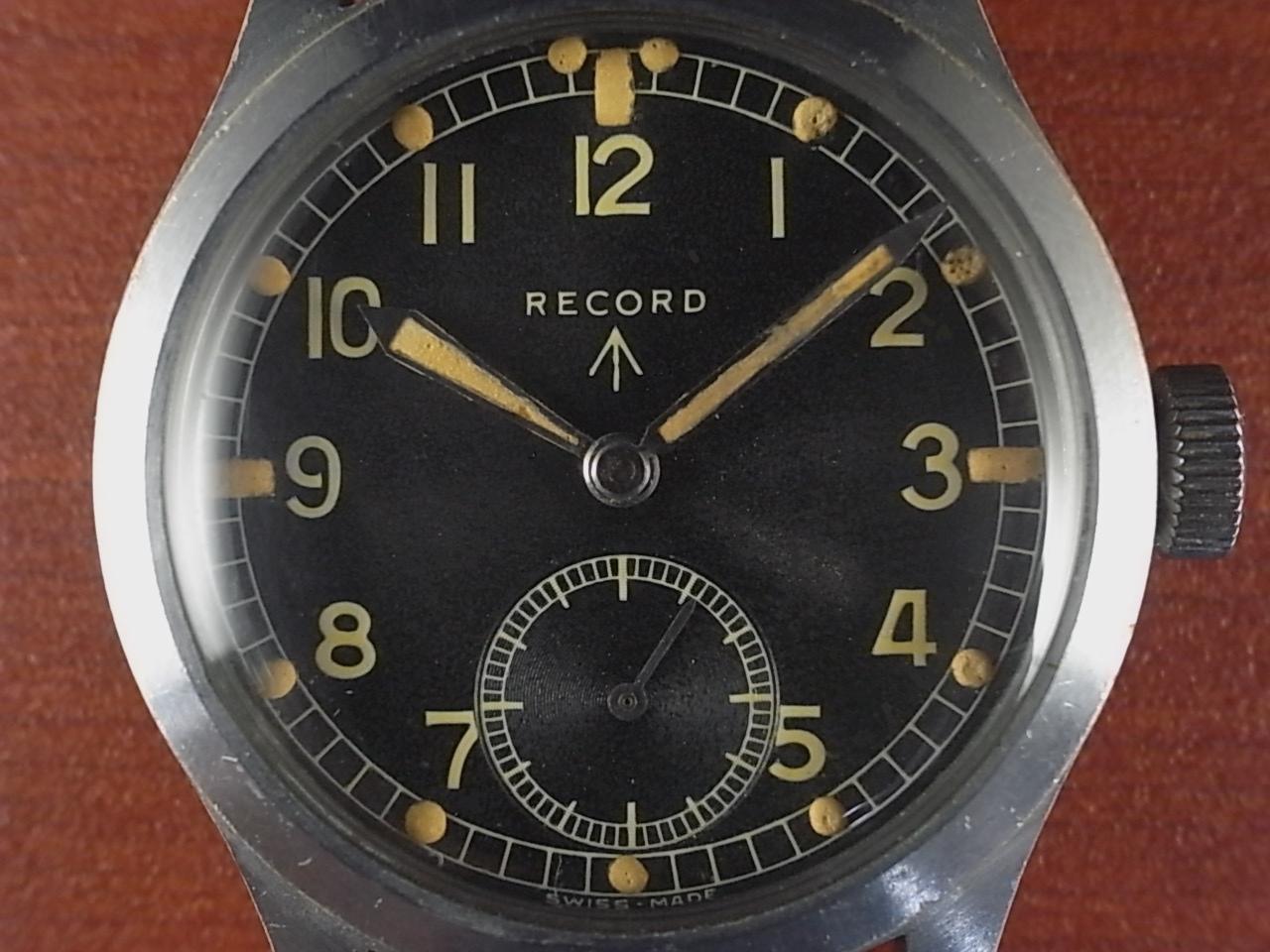 レコード 軍用時計 イギリス陸軍 W.W.W. 第二次世界大戦 1940年代の写真2枚目