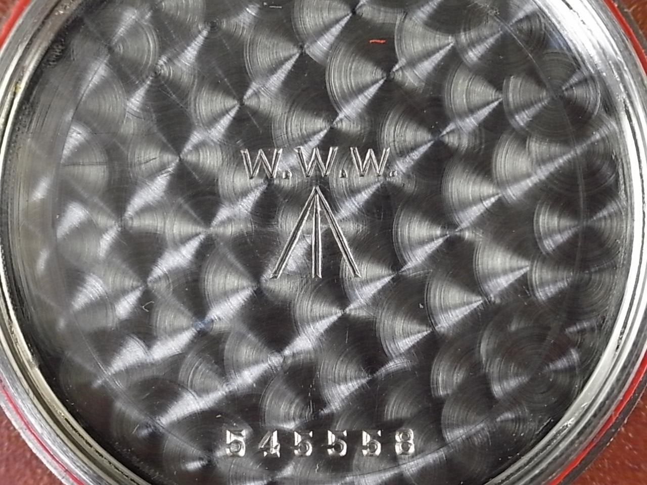 レコード 軍用時計 イギリス陸軍 W.W.W. 第二次世界大戦 1940年代の写真6枚目