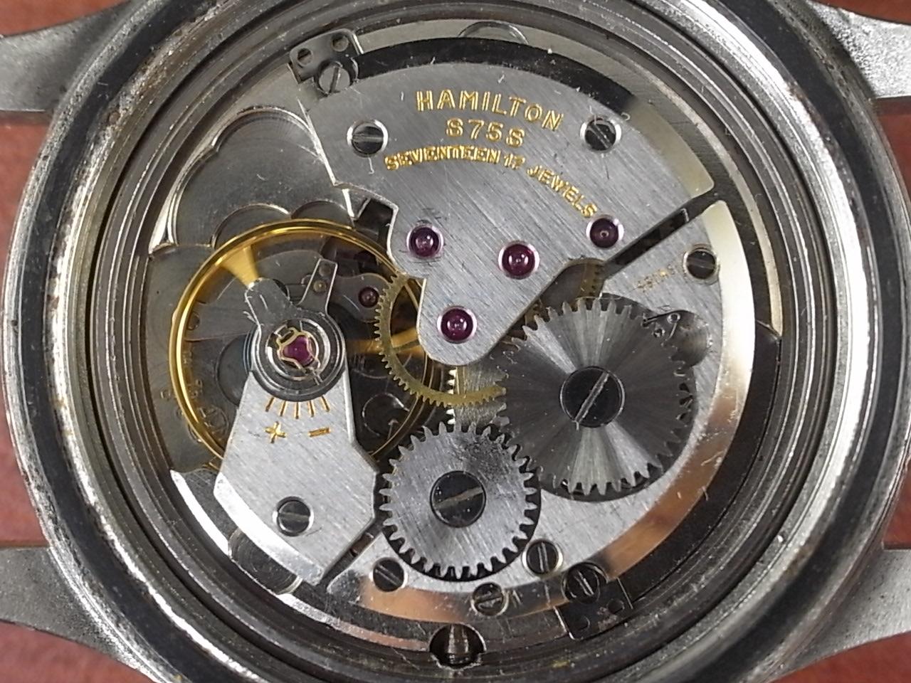 ハミルトン G.S. 24時間表記 ミリタリースペック 1960年代の写真5枚目