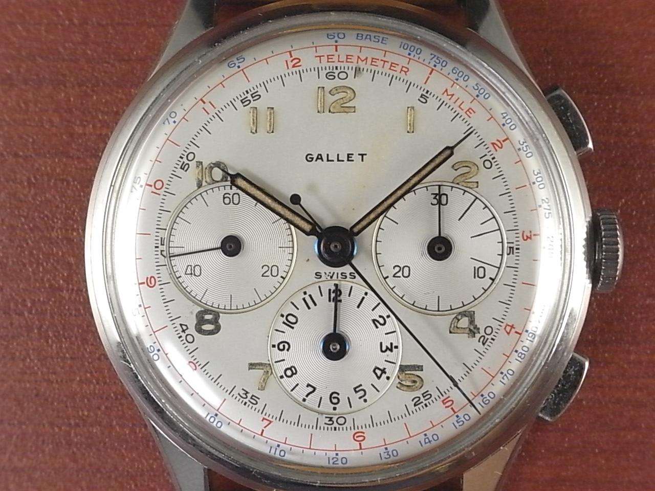 ギャレット クロノグラフ エクセルシオパーク Cal.40 1950年代の写真2枚目
