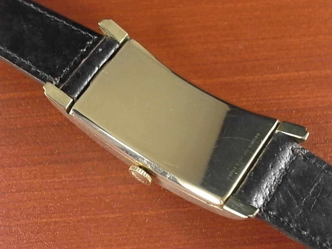 グリュエン カーベックス ブラック/ゴールド 2トーンダイアル Cal.330 1930年代 の写真4枚目