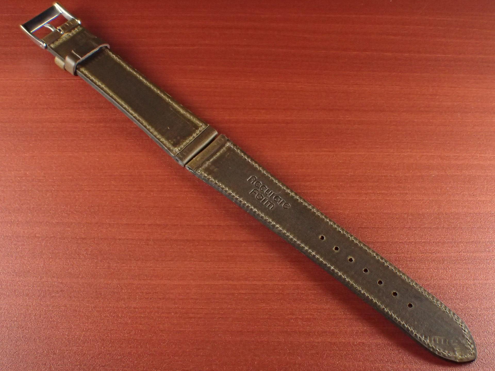 ホーウィン クロムエクセル レギュラー オリーブ 16、17、18、19、20mmの写真2枚目