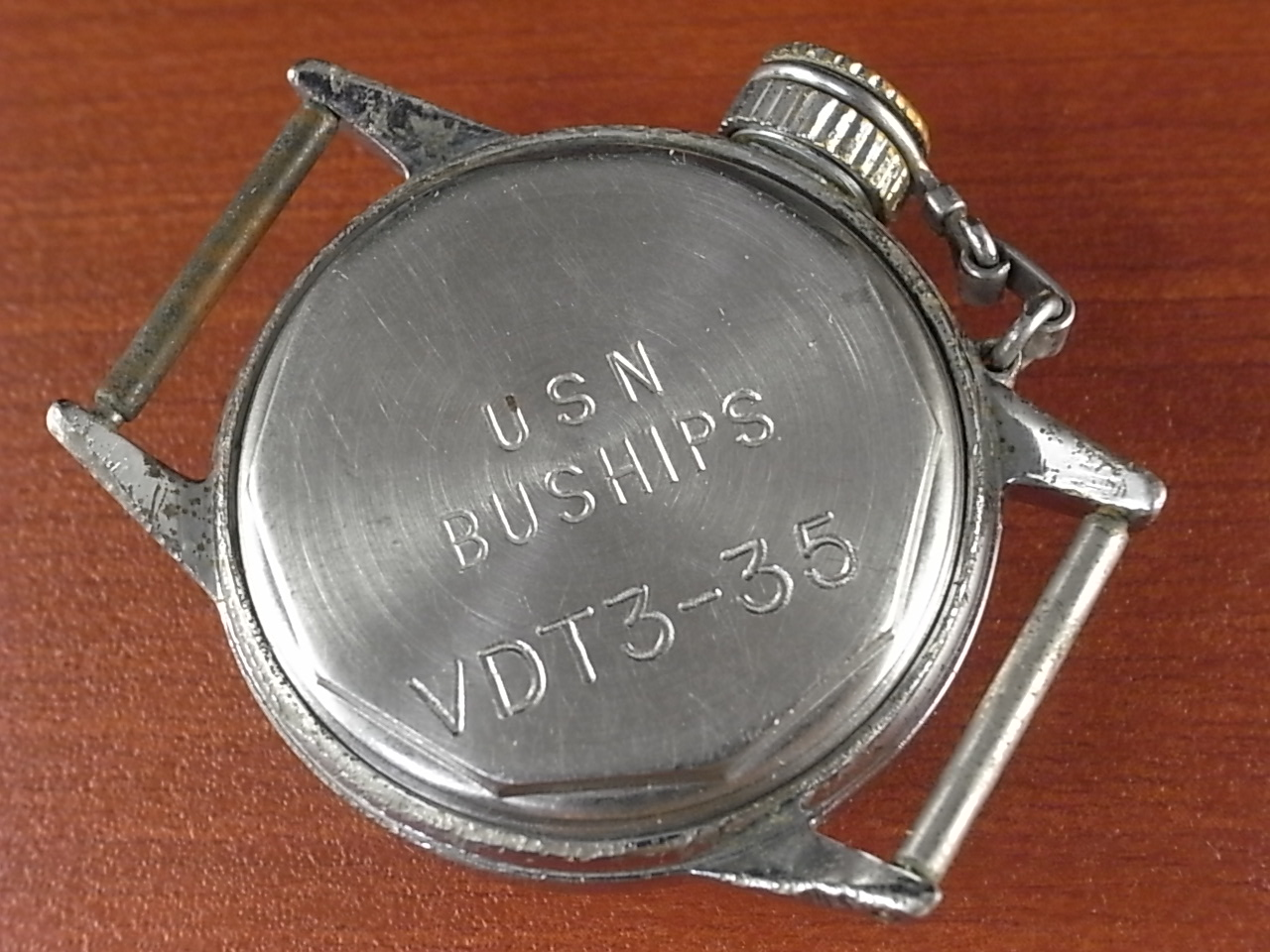 ハミルトン USN BUSHIPS キャンティーン VDT(UDT) 水中爆破チーム 1940年代の写真4枚目