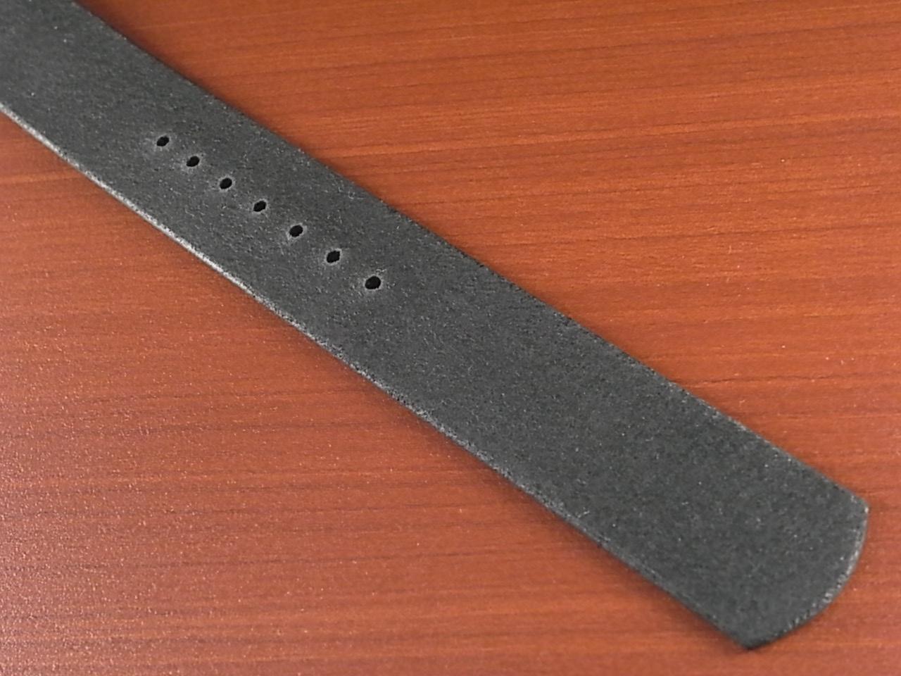 ホーウィン クロムエクセル NATO ブラック PVD金具 17~24mm 受注生産の写真5枚目