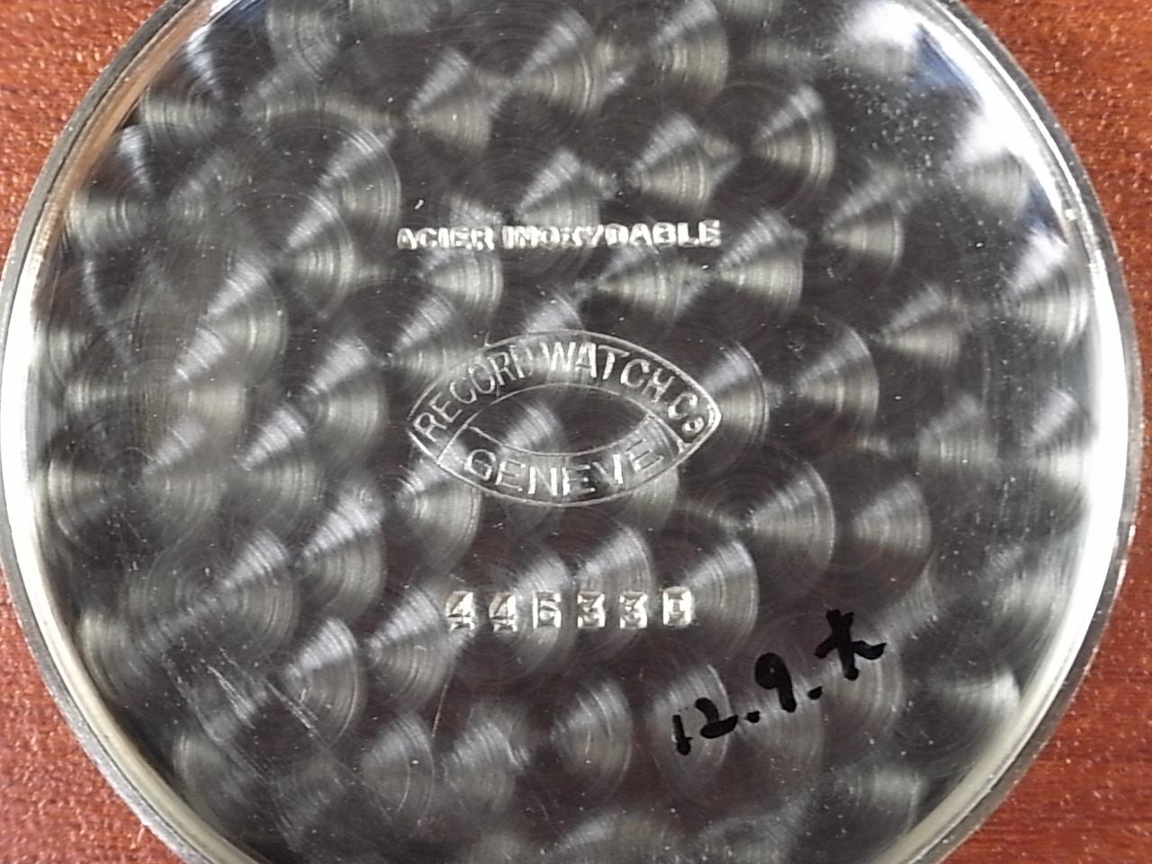 レコード ブラックミラーDL ピンクINDEX ニアミントコンディション タグ付き 1940年代の写真6枚目