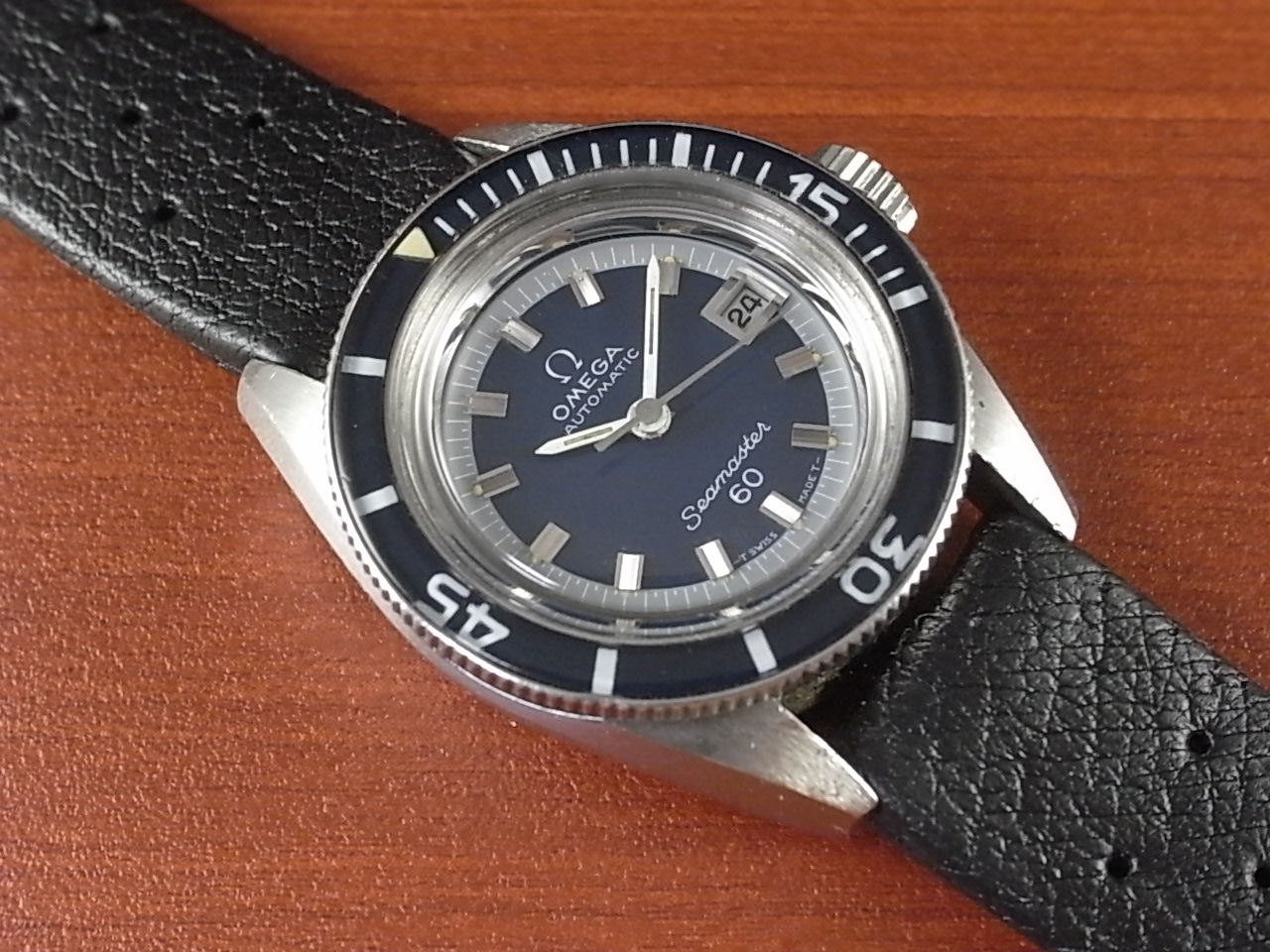 オメガ シーマスター60 レディース ダイバーズウォッチ 1970年代のメイン写真