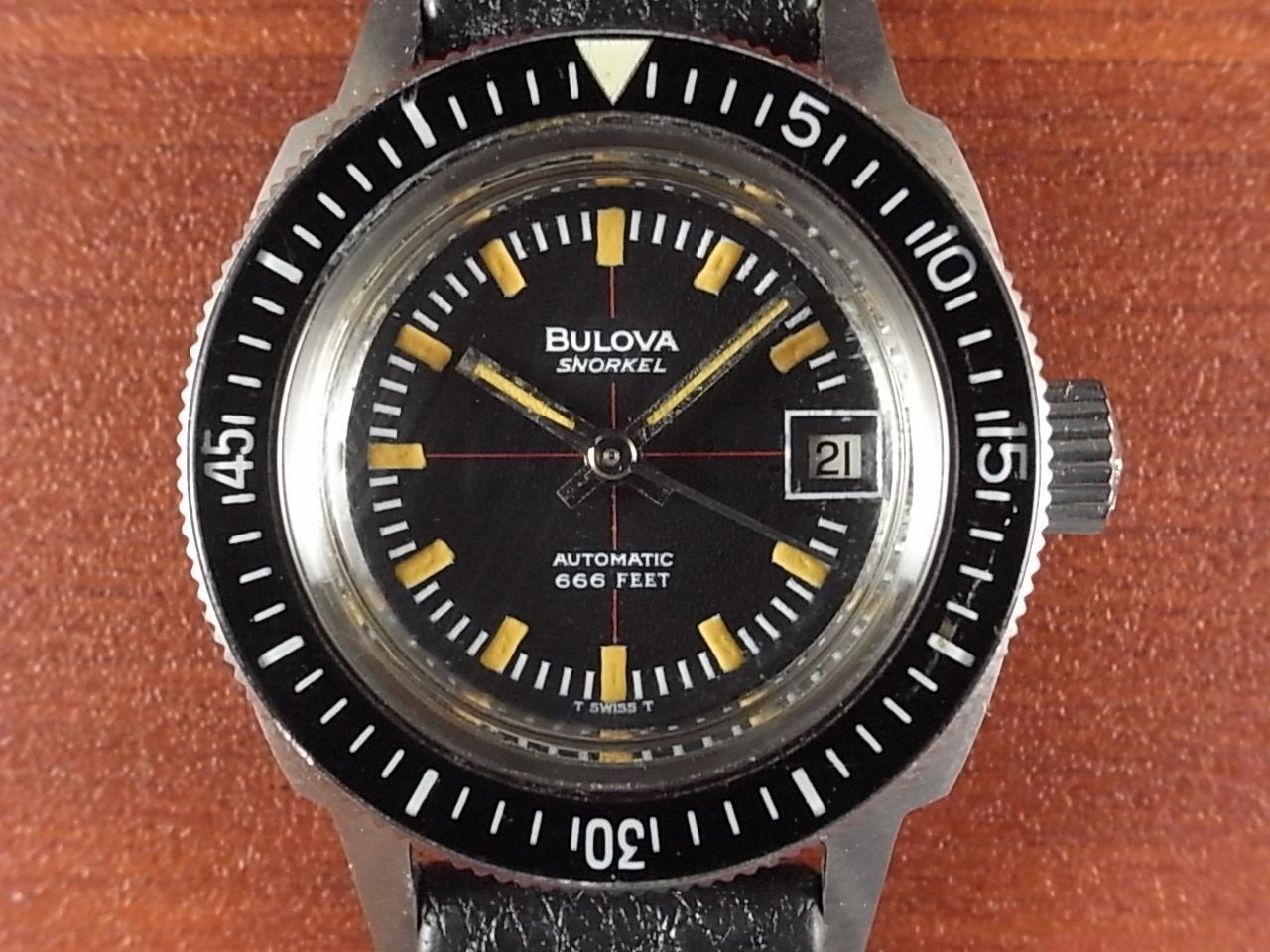 ブローバ スノーケル レディース ダイバーズウォッチ 1970年代の写真2枚目