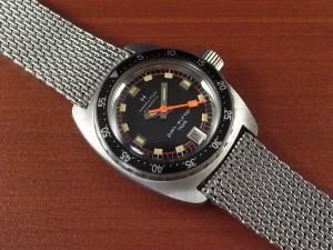 ハミルトン パン・ユーロ レディース ダイバーズウォッチ NOS 1970年代