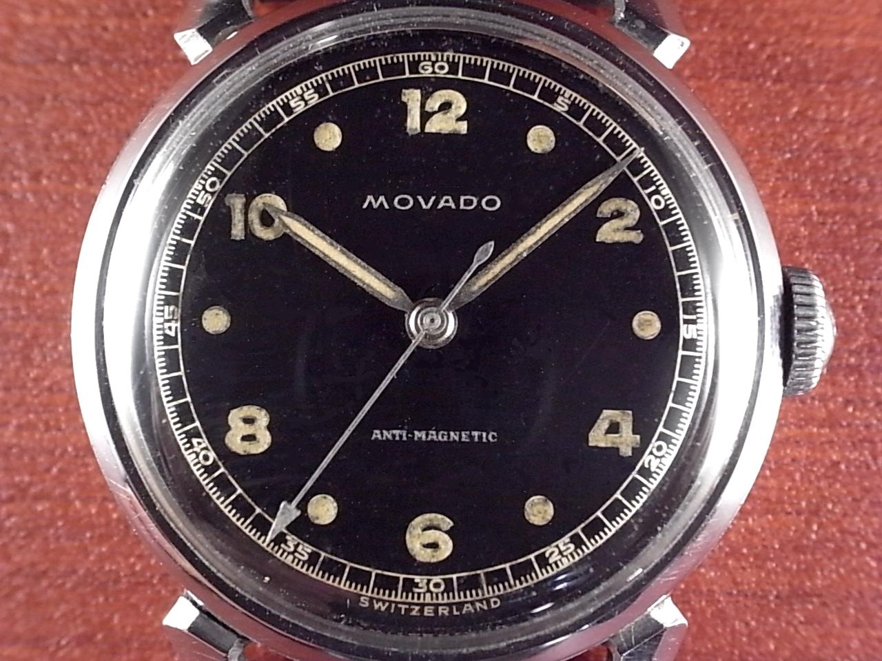 モバード ブラックミラーダイアル FBケース 1940年代の写真2枚目