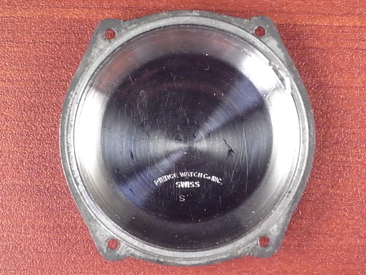 ピアース ワンプッシュ縦目クロノグラフ ブラックミラーDL 1940年代の写真6枚目