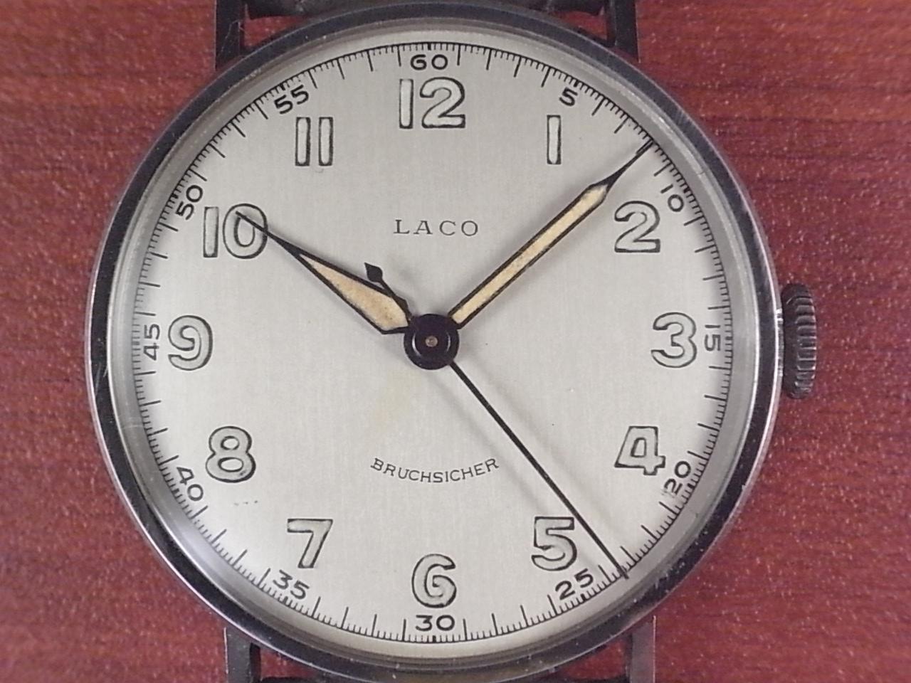 ラコ シリンダーケース センターセコンド 未使用品 1940年代の写真2枚目