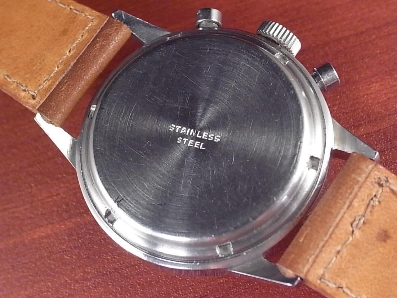 ミネルバ 3レジスタークロノグラフ バルジュー72 1950年代の写真4枚目