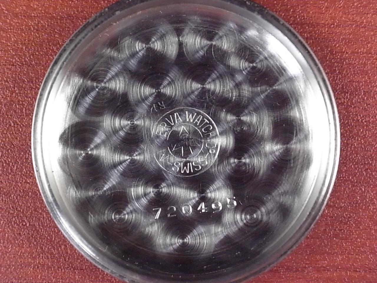 ミネルバ 3レジスタークロノグラフ バルジュー72 1950年代の写真6枚目