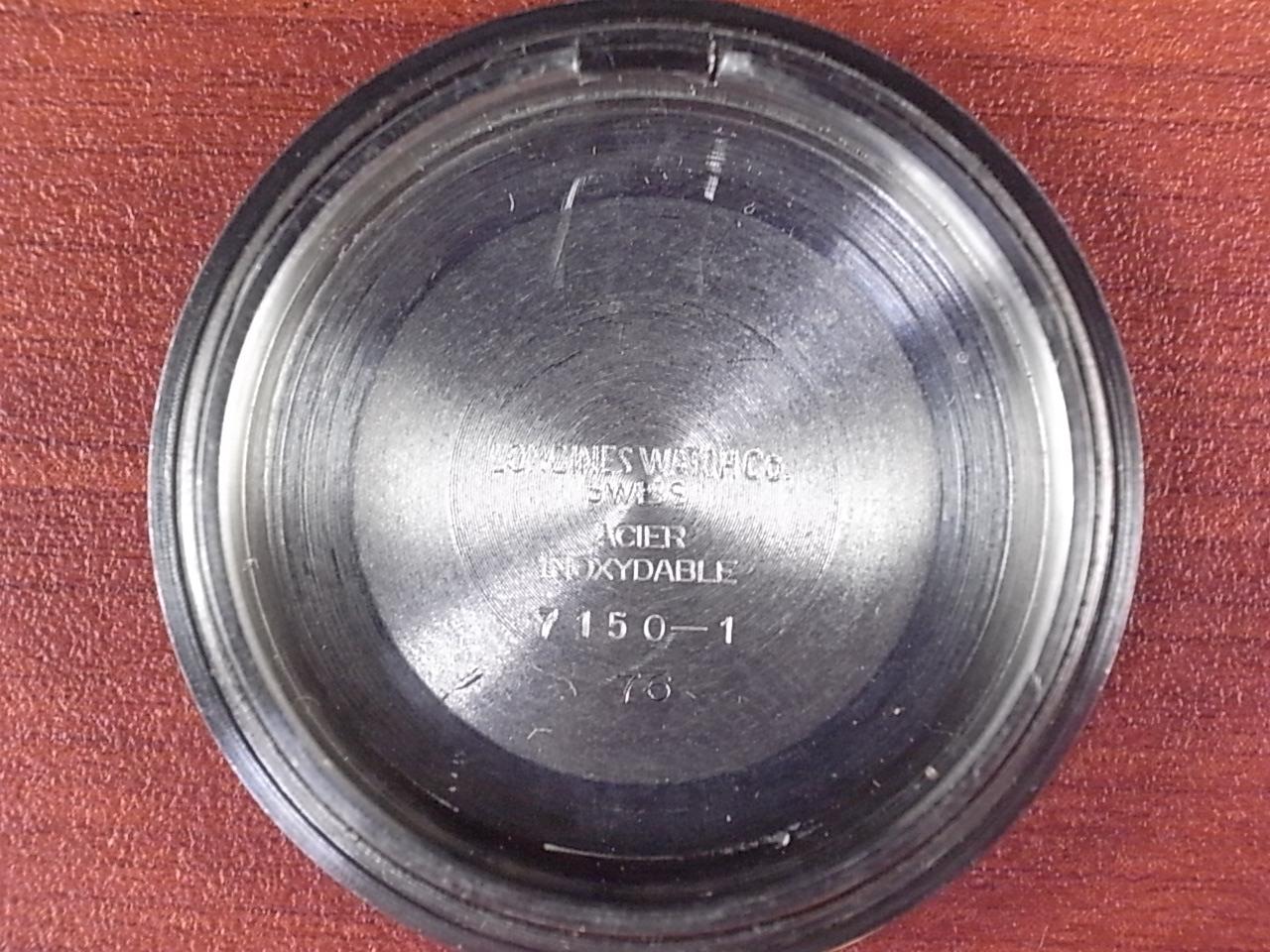 ロンジン レジェンドダイバー オリジナル ブラックミラー トロピックバンド 1960年代の写真6枚目