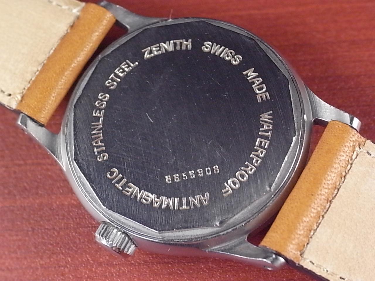 ゼニス ブルズアイ グレー/ブラック スクリューバック ニアミント 1940年代の写真4枚目