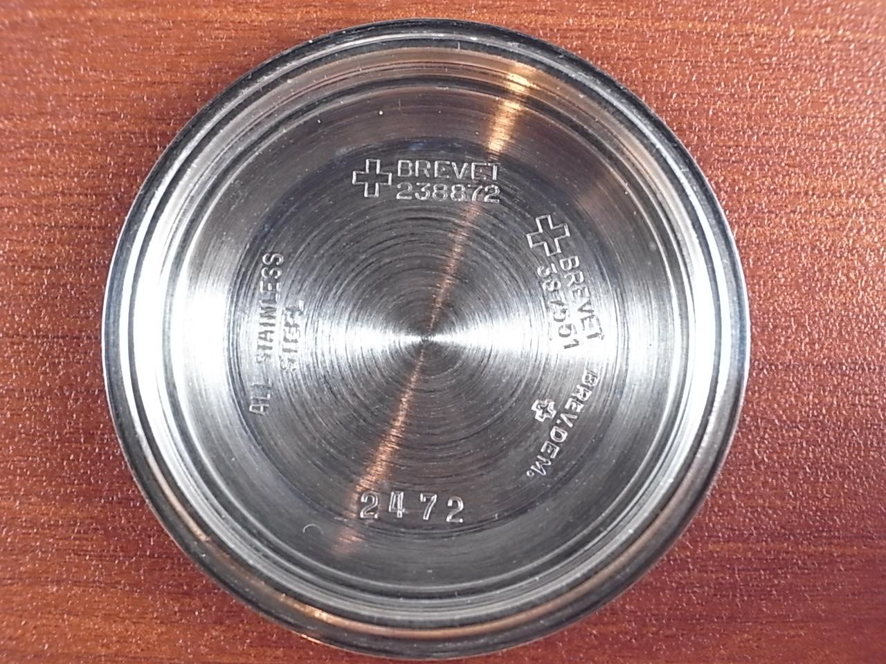 テクノス スカイダイバー 500m防水 ダイバーズウォッチ 1960年代の写真6枚目