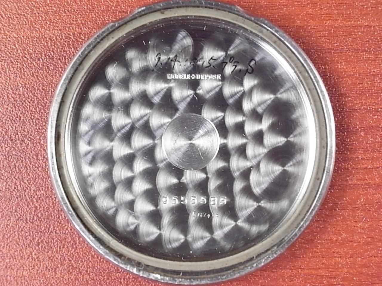 レマニア クロノグラフ Cal.13CH ブラックダイアル スナップ防水ケース 1940年代の写真6枚目
