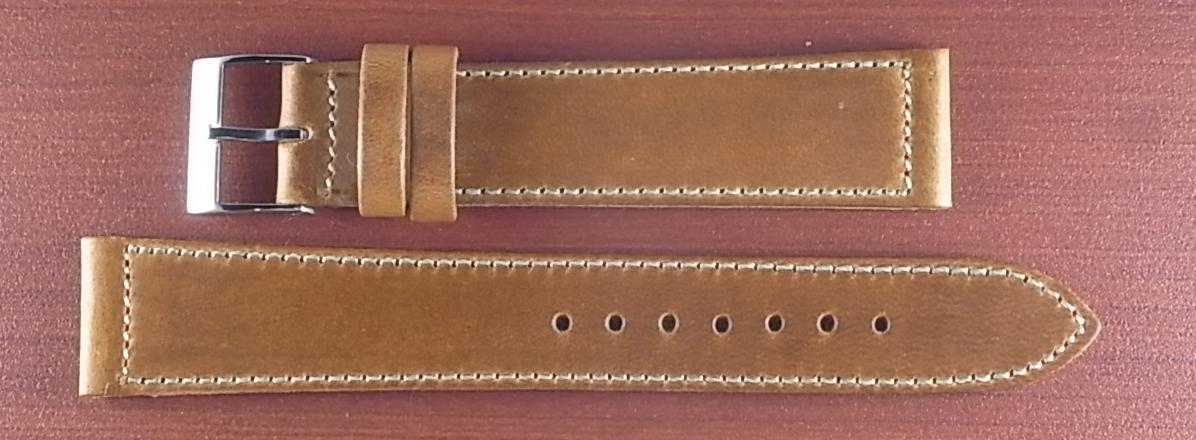 ホーウィン クロムエクセル レギュラー モカ 16、17、18、19、20mm