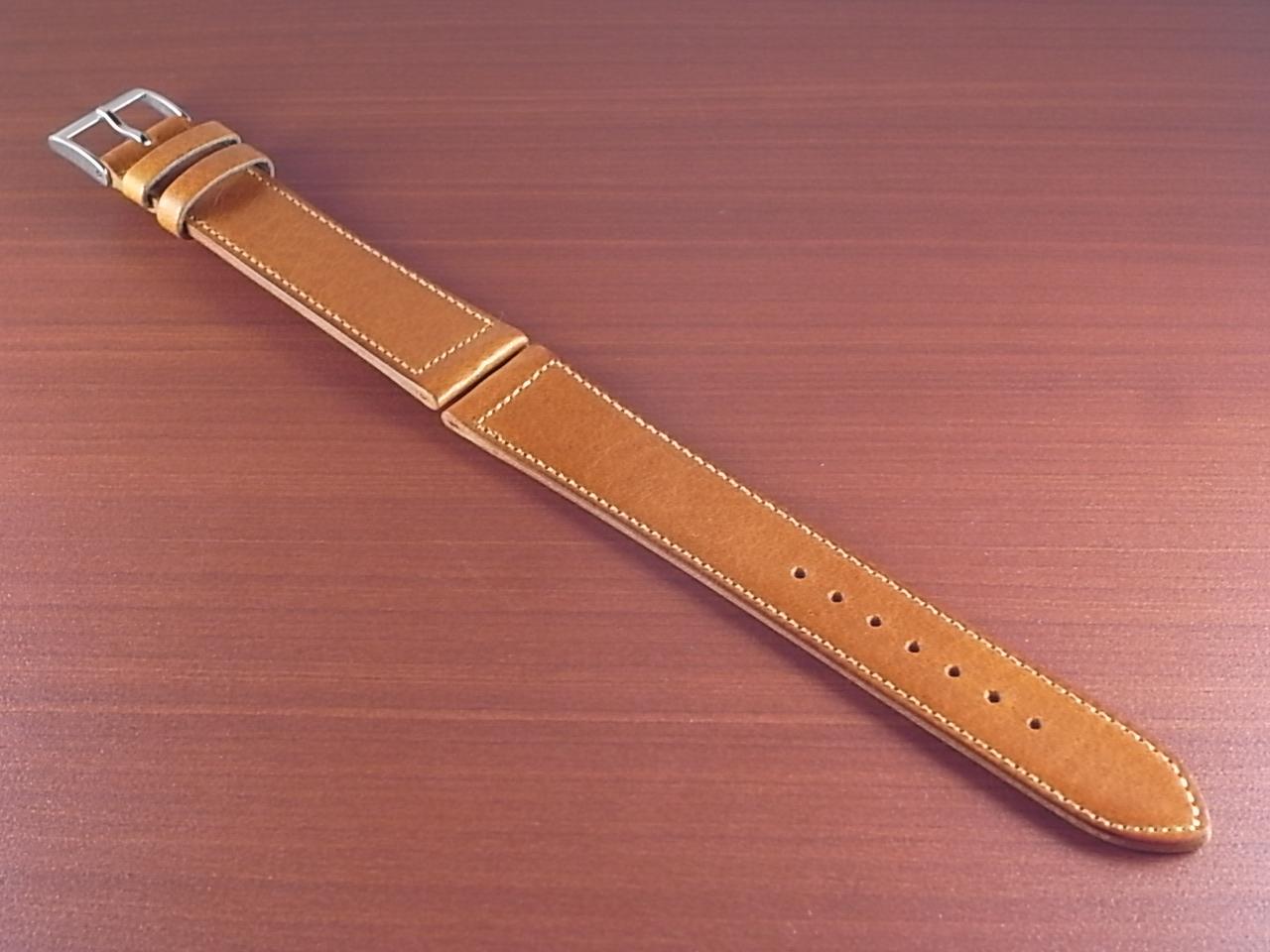 艶ありヌメ牛ステア 革ベルト ウィスキー 16mm CC-030aのメイン写真
