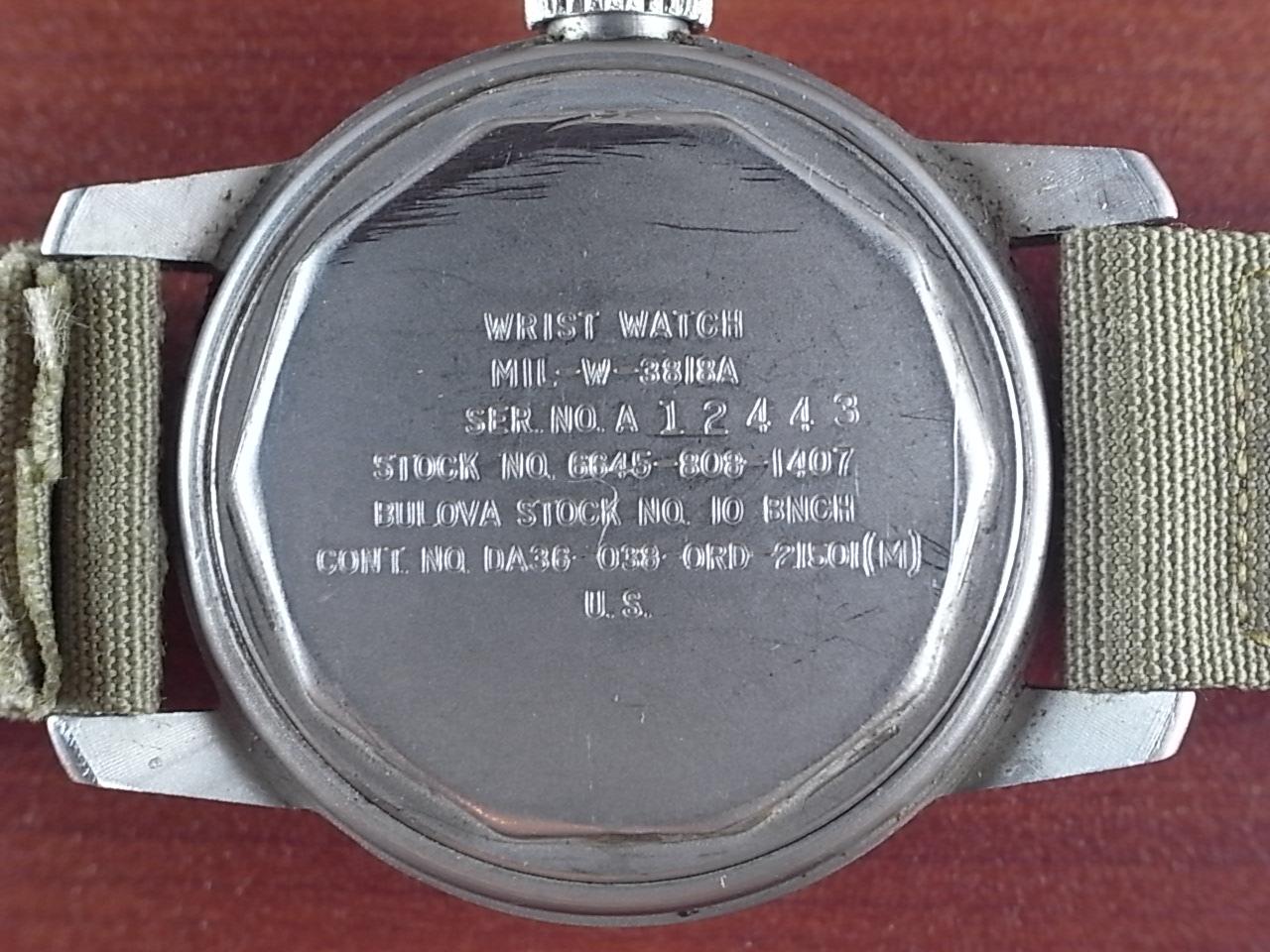 ブローバ ミリタリー 米軍 MIL-W-3818A 1960年代 の写真4枚目