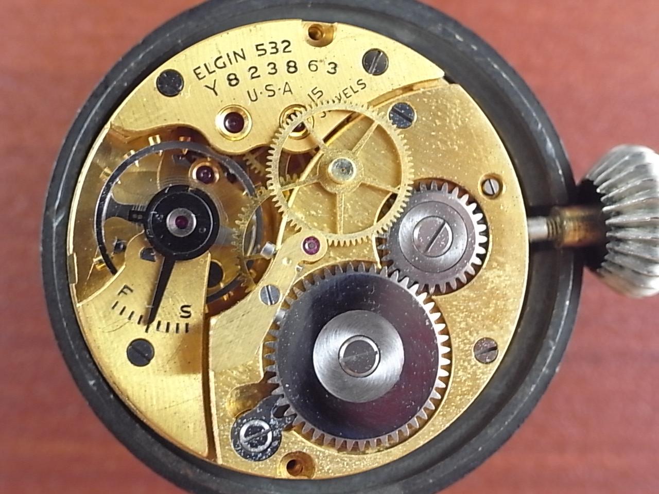 エルジン 米海軍 偵察カメラ用時計 第二次世界大戦 1940年代の写真5枚目