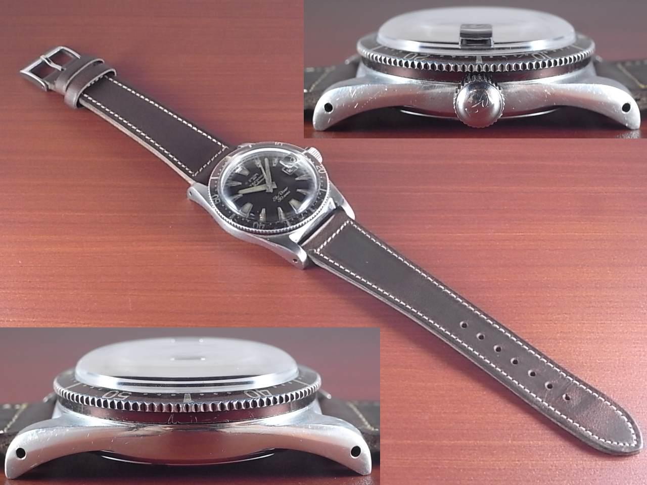 テクノス スカイダイバー トロピカルダイアル 30JEWELS 1960年代の写真3枚目