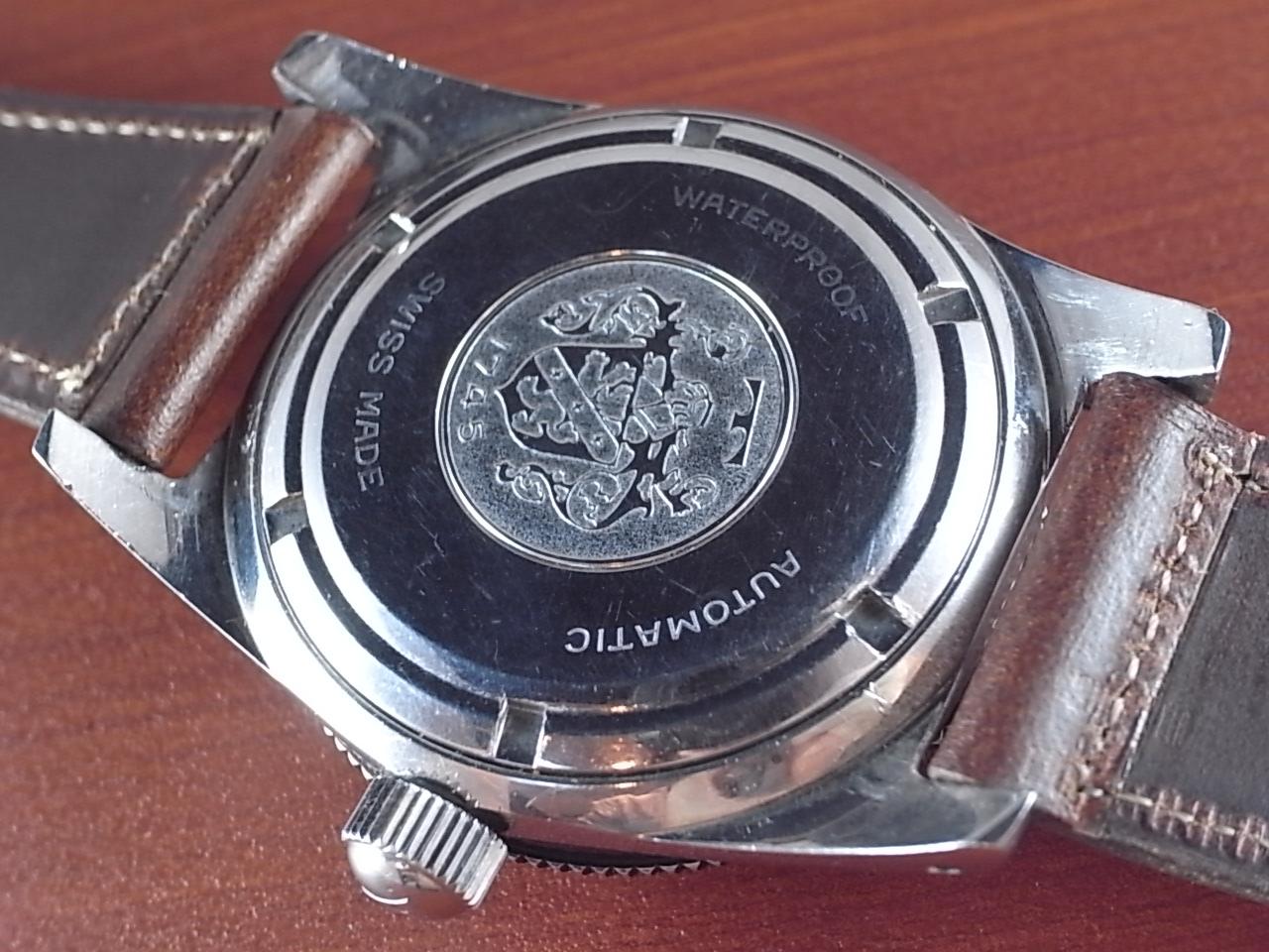テクノス スカイダイバー トロピカルダイアル 30JEWELS 1960年代の写真4枚目
