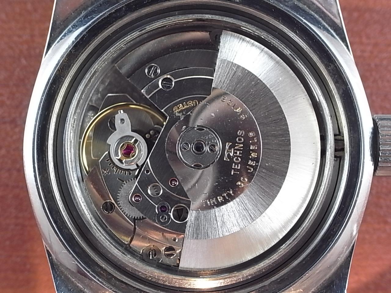 テクノス スカイダイバー トロピカルダイアル 30JEWELS 1960年代の写真5枚目
