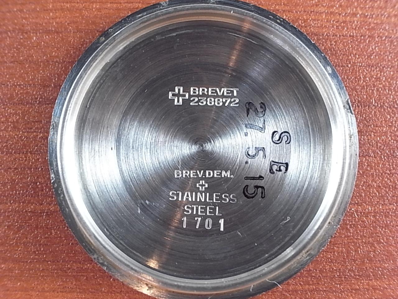 テクノス スカイダイバー トロピカルダイアル 30JEWELS 1960年代の写真6枚目