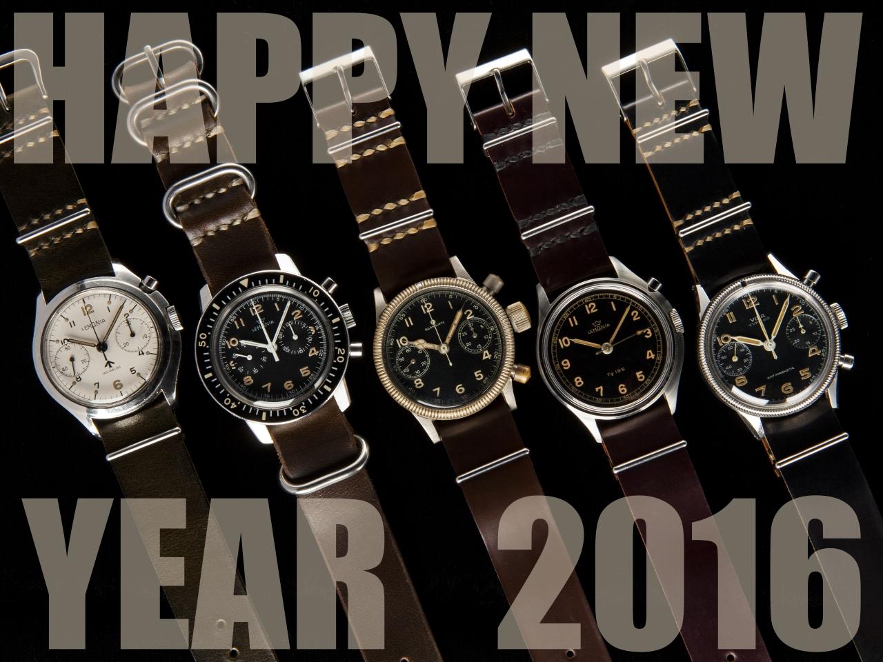 2016 新年 明けましておめでとうございます!