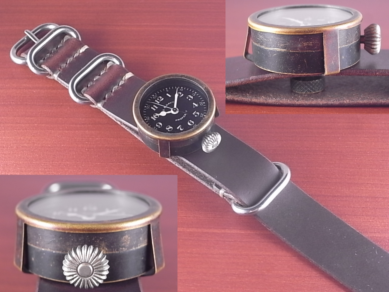 エルジン 米海軍 偵察カメラ用時計 第二次世界大戦 1940年代の写真3枚目