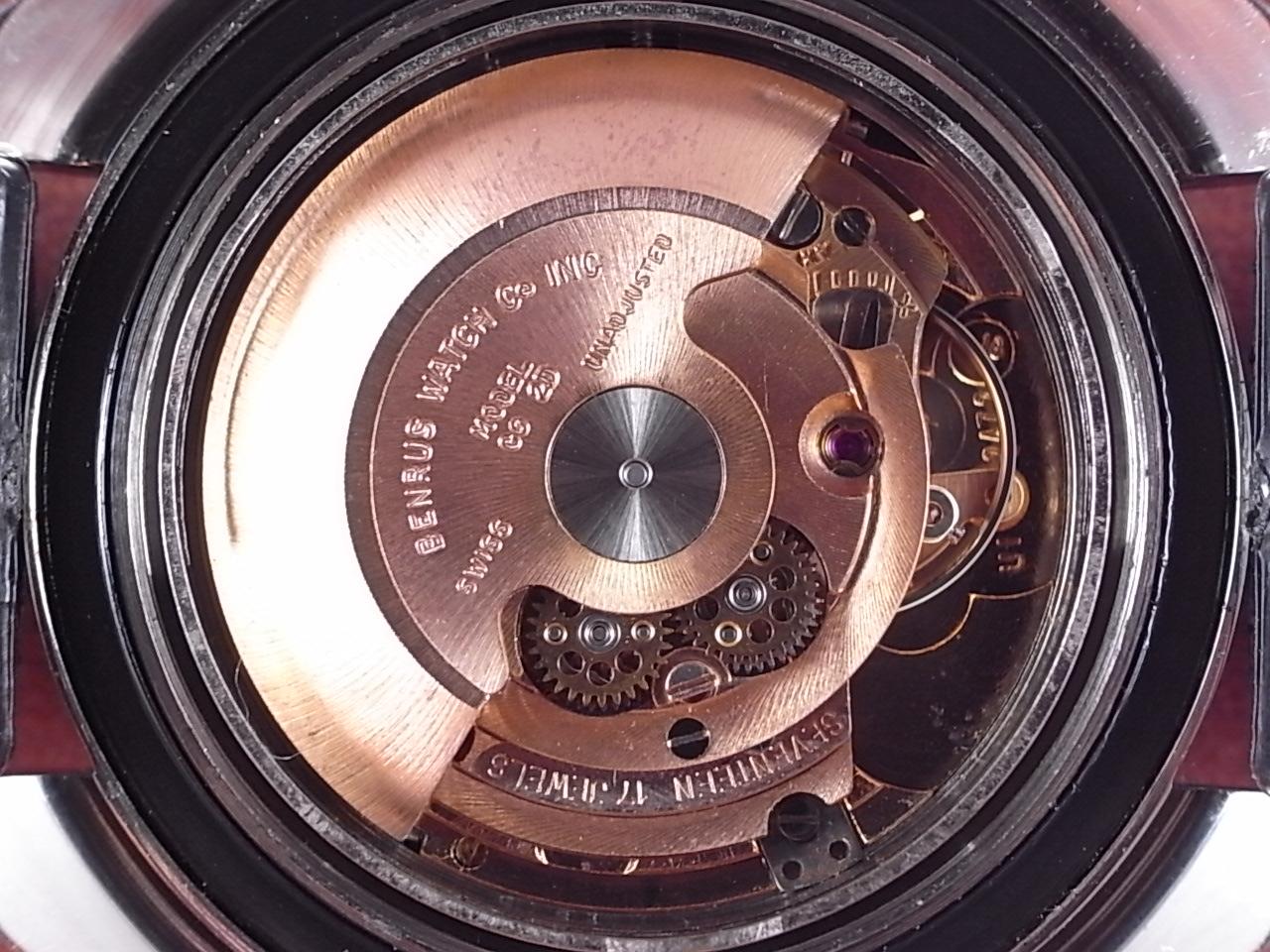 ベンラス ウルトラディープ ダイバーズウォッチ トノーケース 1970年代の写真5枚目