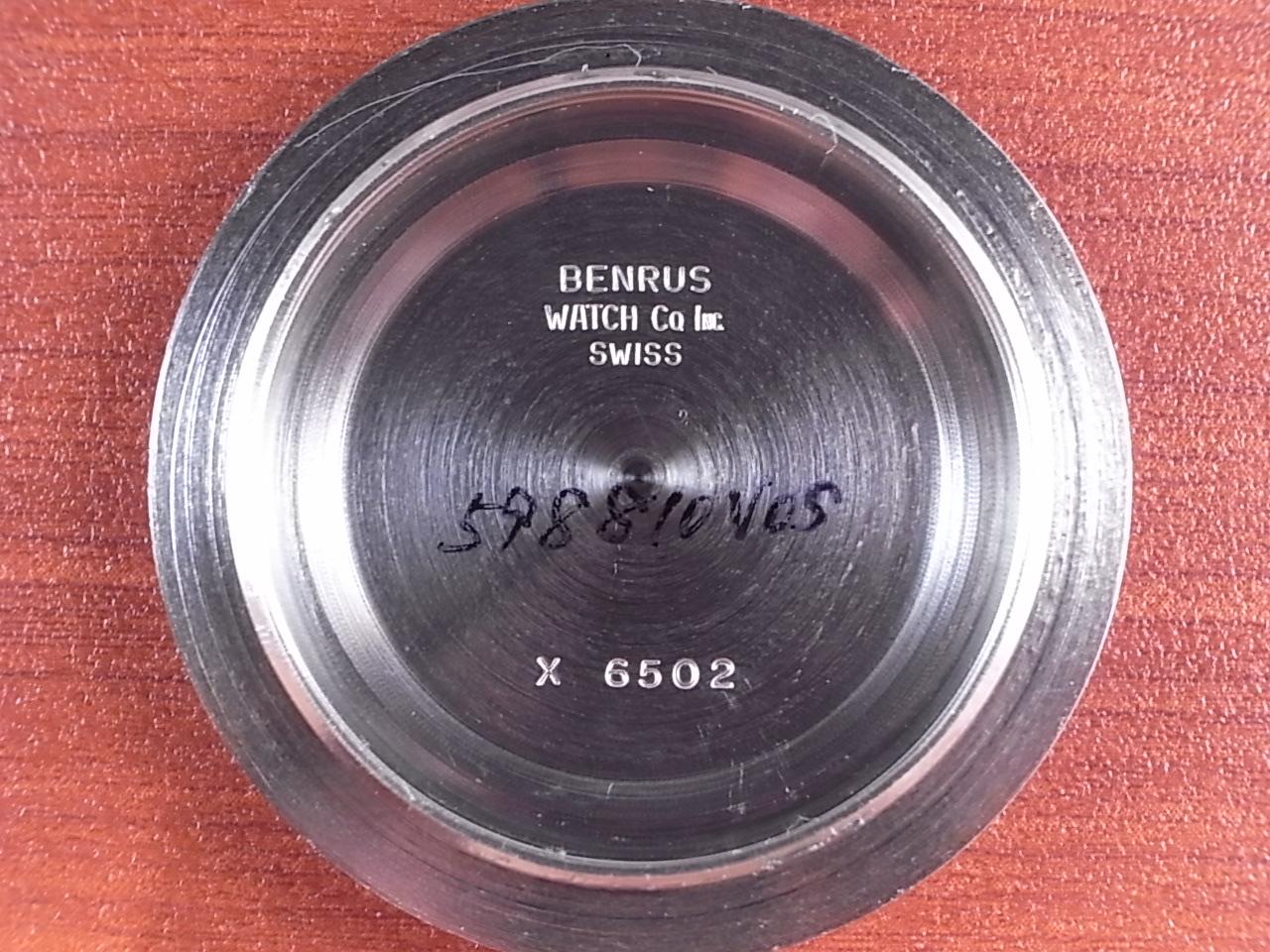 ベンラス ウルトラディープ ダイバーズウォッチ トノーケース 1970年代の写真6枚目