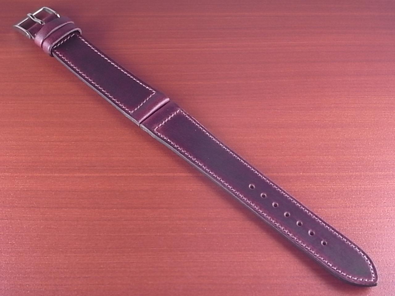 ホーウィン クロムエクセル レギュラー バーガンディ 16、17、18、19、20mmのメイン写真