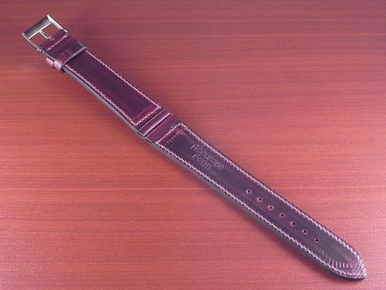 ホーウィン クロムエクセル レギュラー バーガンディ 16、17、18、19、20mmの写真2枚目
