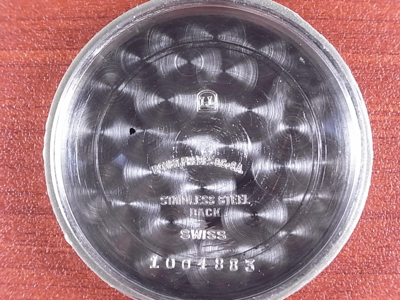 ボヴェ 縦目クロノグラフ ヴィーナス170 渦巻タキメーター 1940年代の写真6枚目