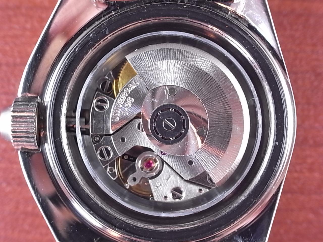 ユニバーサル・ジュネーブ レディースサブ オートマチック レッドベゼル 1970年代の写真5枚目