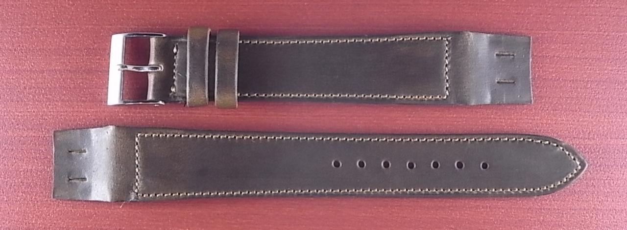 ホーウィン クロムエクセル オープンエンド オリーブ 16、18、20mm