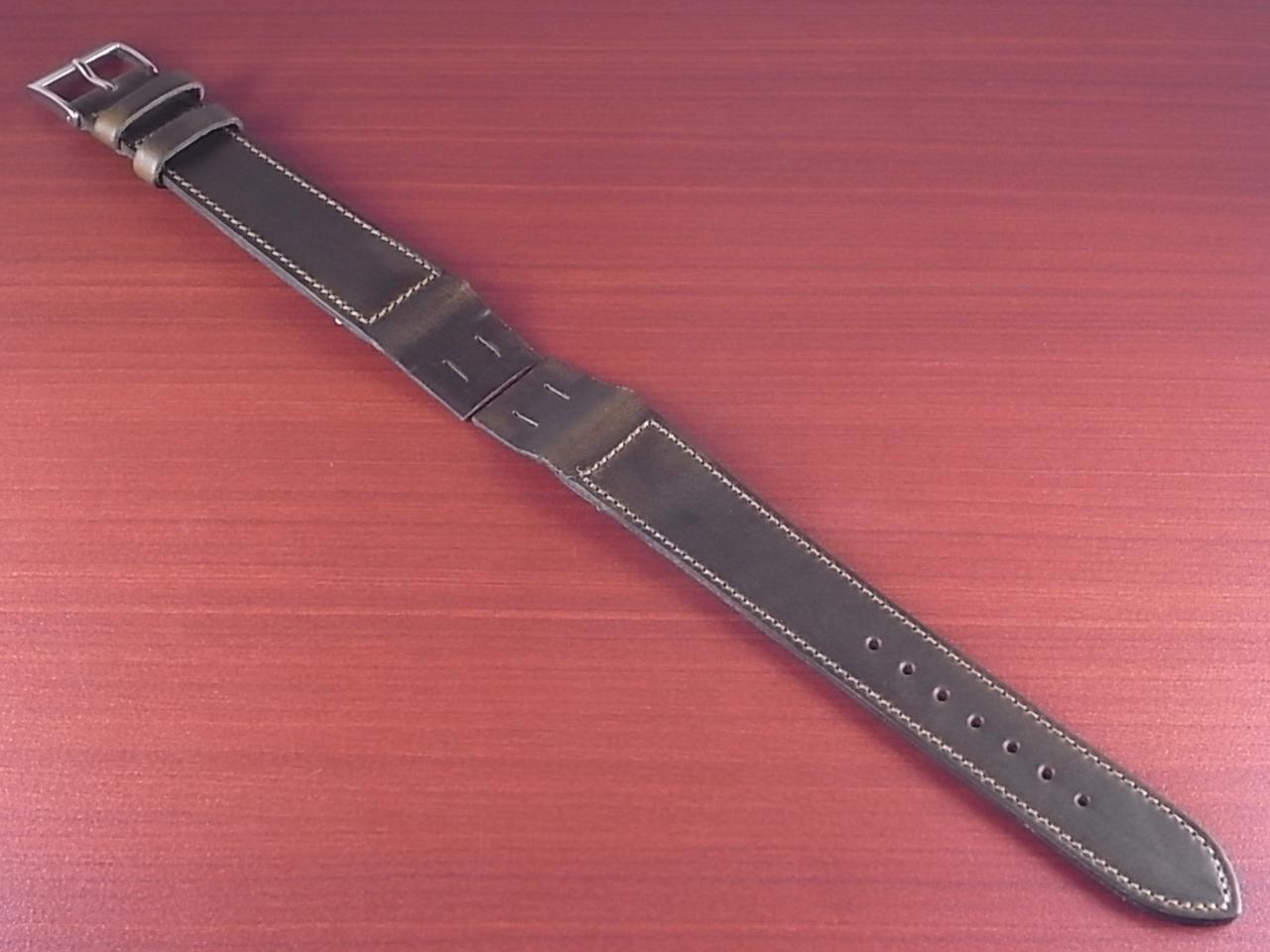 ホーウィン クロムエクセル オープンエンド オリーブ 16、18、20mmのメイン写真