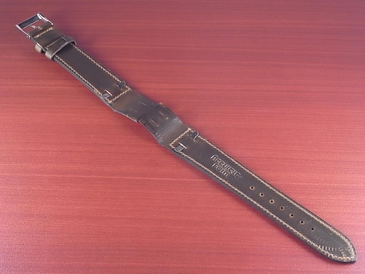 ホーウィン クロムエクセル オープンエンド オリーブ 16、18、20mmの写真2枚目