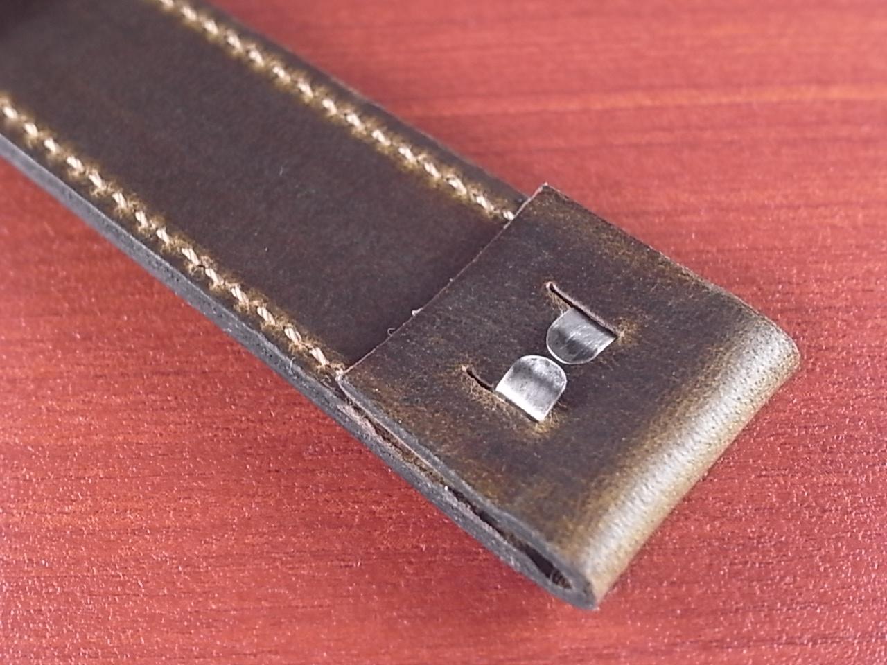 ホーウィン クロムエクセル オープンエンド オリーブ 16、18、20mmの写真5枚目
