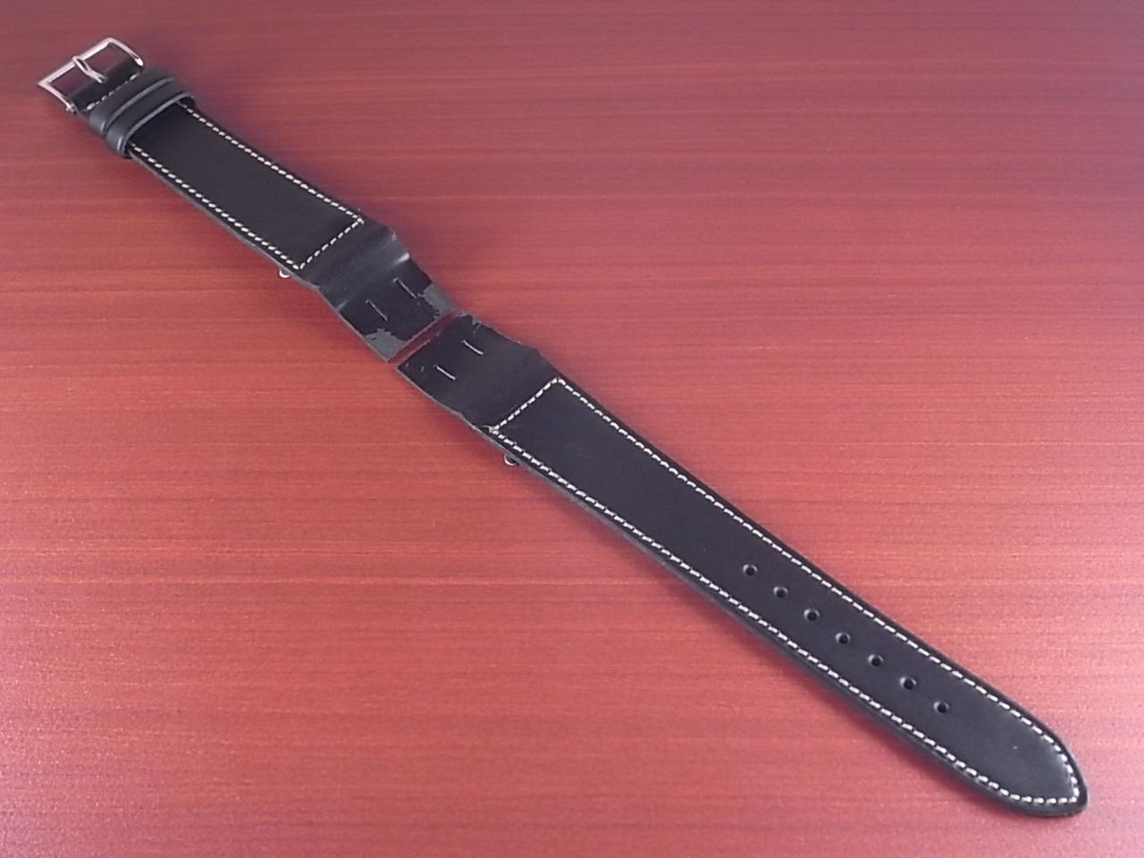 ホーウィン クロムエクセル オープンエンド ブラック 16、18、20mmのメイン写真