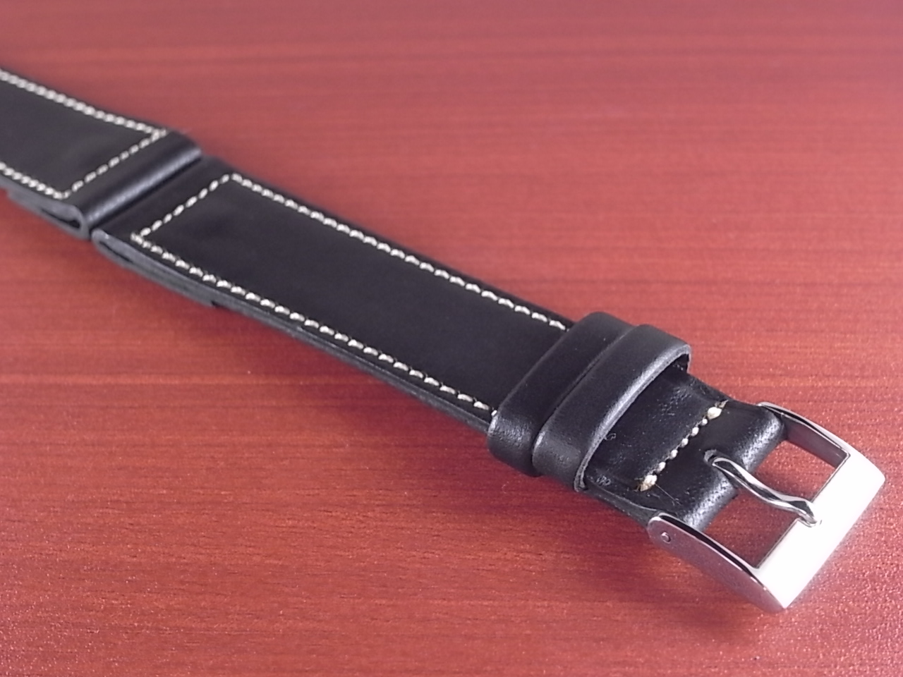 ホーウィン クロムエクセル オープンエンド ブラック 16、18、20mmの写真6枚目